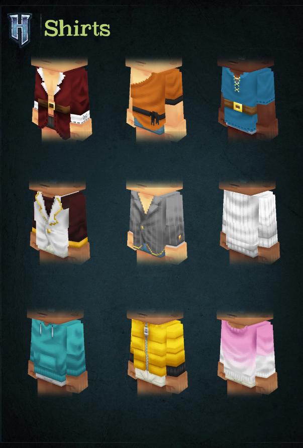 Одежда в Hytale